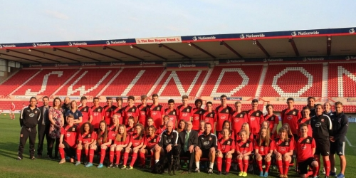 Success at Swindon Town FC