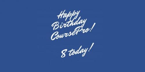 Happy Birthday CoursePro