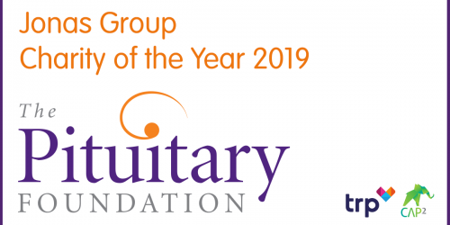 The Pituitary Foundation – Our Charity of the Year.