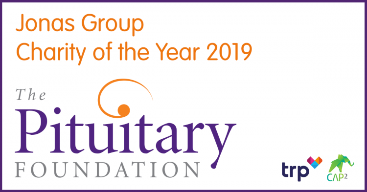 Our Charity of the year 2019, The Pituitary Foundation!