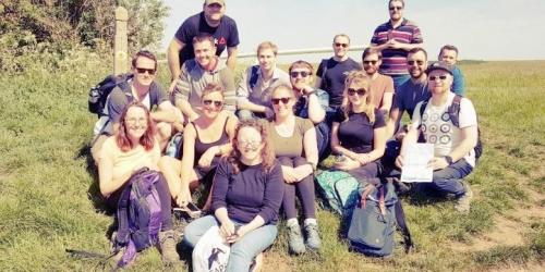 Our recent team-building day, out & about in Avon Valley!